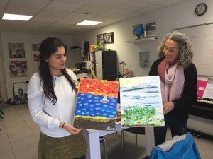 English class : Painting & Speaking