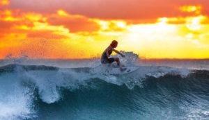 le surf pour se dépasser