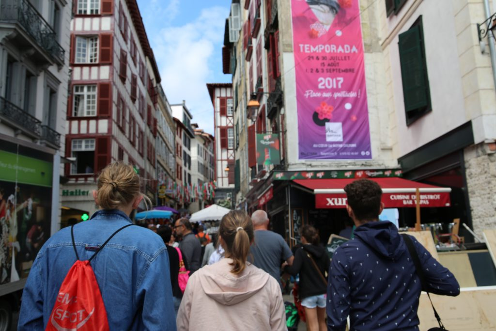 Visit the Basque Country in English