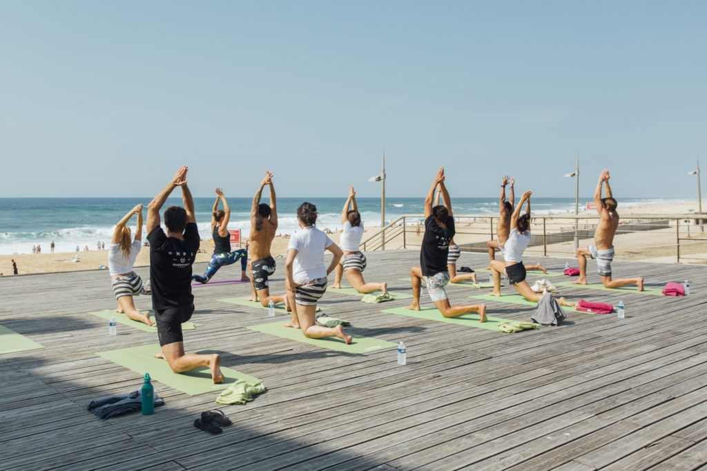 French, Coaching for Self-confidence & Yoga Course in Biarritz – Anglet – Capbreton